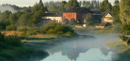 картинка село