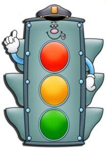 детский светофор