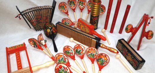 русские народные инструменты для фольклорного праздника