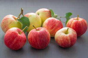 яблоки красивые