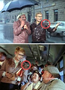 киноляп в советских фильмах